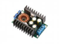 DC-DC 12A 300W Step-Down 5-40V to 1.2-35V Adjustable Power Supply Module