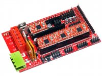 Ramps 1.4 3D Printer Control Board with 4XA4988 Drivers