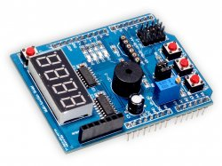 Multifunction shield compatible with Arduino Uno / Leonardo