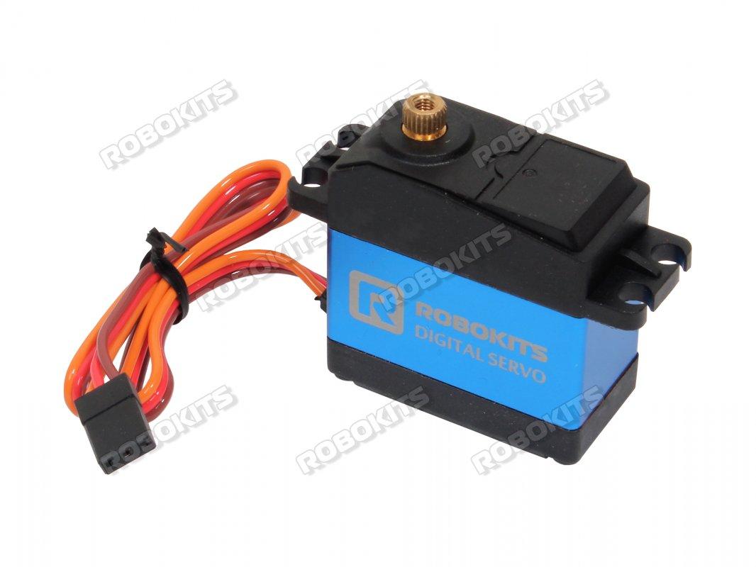 High Torque Digital Waterproof Servo Motor 180 20kgcm Rki 1248 Controlled Potentiometer Control