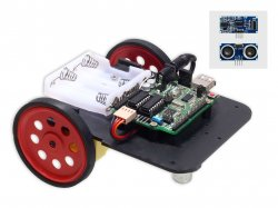 Ultrasonic Range Finder Robot DIY Kit Compatible with Arduino