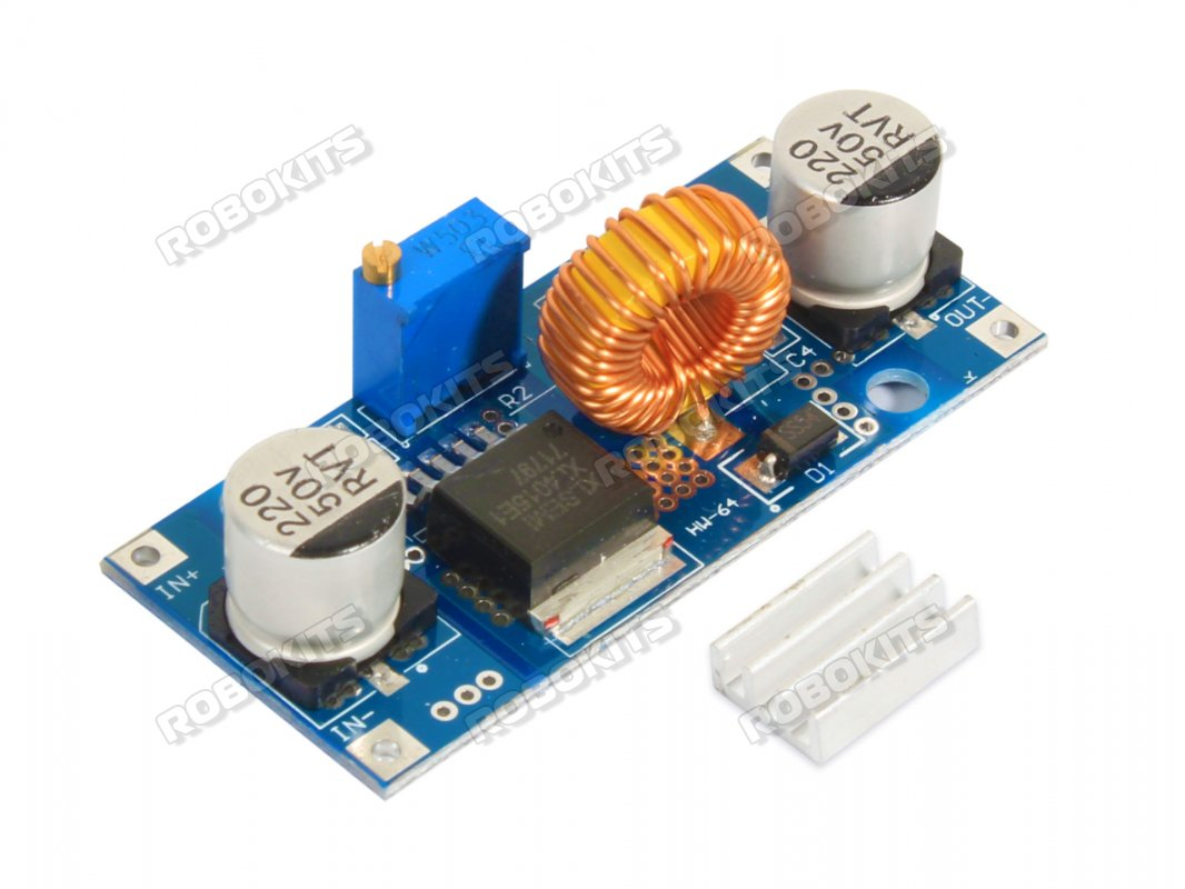 Step Down Dc Adjustable Voltage Regulator 5a Xl4015e1 Based Power Supplies Gt Chargers Low Charger Circuit