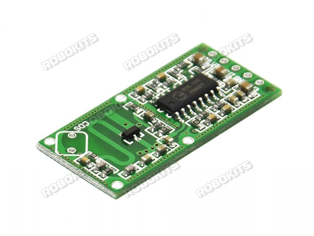 Doppler Radar Sensor With Digital Output Rcwl 0516 Rki 2889 8051 Microcontroller Ultrasonic Rangefinder Using Circuit Diagram