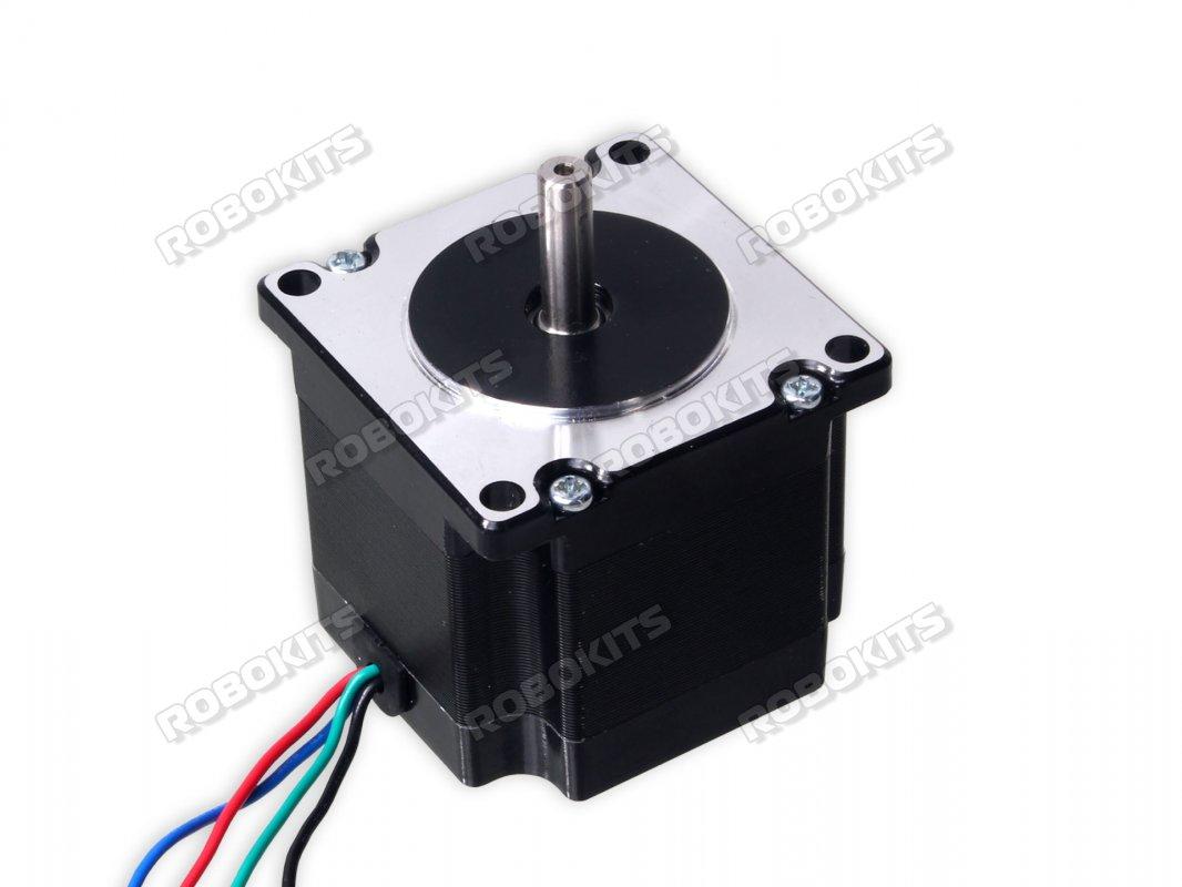 Stepper Motor Nema23 10kgcm Torque Rmcs 1001 960 Robokits 8051 Microcontroller Ultrasonic Rangefinder Using Circuit Diagram