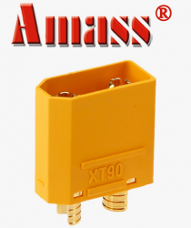 Original Amass XT90 Male Connector