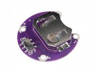 LilyPad CR2032 Coin Cell Battery Holder Module