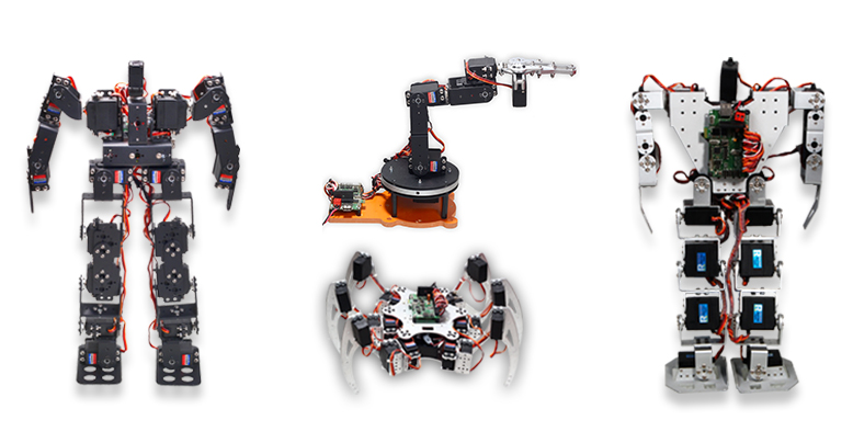 Robots, Robot Kits & Parts