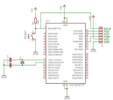 Jdm Programmer Circuit Diagram | Pic Serial Port Programmer Icsp Rki 1046 250 Robokits India