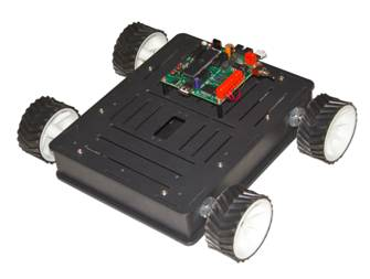 How to make a Wireless PS2 Remote Controlled Robot : Robokits India